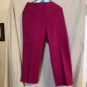 Tommy Bahama 10- hot pick capris. NWOT